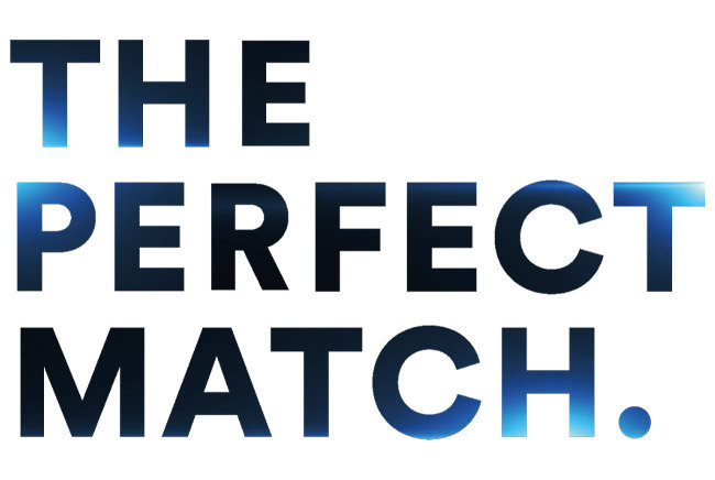"Napis ""The Perfect Match"""
